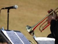 トランペットの演奏